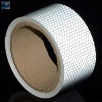 """Semi Trailer Wide Transparent Reflective Tape High Intensity Glass Bead 2"""" x 30' Roll Manufactures"""