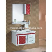 pvc coated bathroom cabinet Manufactures