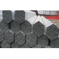 ERW Hot-dip Galvanized Steel Pipe , Water Pipe Used For Structure Manufactures