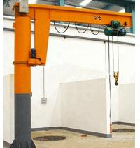 1 Ton 2 Ton Fix Overhead Jib Crane / Rotary 360 Degree Arm Swing Jib Crane Manufactures