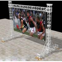 LED Screen Aluminum Square Truss For Stage Backgroud / Background Truss Manufactures