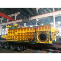 Double Main Cylinder Bale Density High Color Customized Baling Press Machine Manufactures