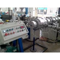 Quality SGS Plastic PE Water Pipe Extrusion Line / PPR Co - Extruder High Output for sale