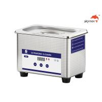 China 40KHz Industrial Ultrasonic Cleaner 0.8L 60W For Contact Lens / Glass / Shaver on sale