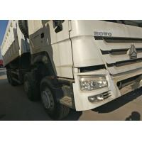 Buy cheap SINOTRUK HOWO Dump Truck 371HP 8X4 LHD 50 tons 30 CBM Commercial Dump Truck from wholesalers