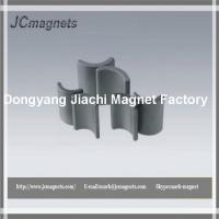 Arc Shaped Hard Sintered Hard Ferrite Magnet Manufactures