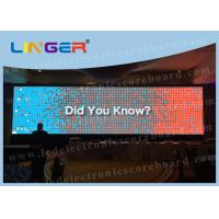 P10 Full Color Led Large Screen Display , Led Panel Display Indoor Type Manufactures
