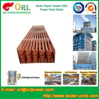 Convection Platen CFB Boiler Superheater In Thermal Power Plant Manufactures