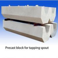 China Strong Scouring Ability Precast Concrete Blocks Prefab Concrete Blocks For Tapping Spout on sale