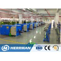 High Production Automatic Wire Twisting Machine , Wire Buncher Machine For Data Cable Manufactures