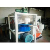 Dust Free Plastic Scrap Cutting Machine 410mm Motor With Wind Conveying Manufactures