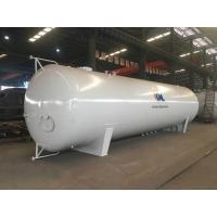 60CBM Liquid Propane Ammonia Butane Gas Bullet Storage Tank For Gas Station Installation Manufactures