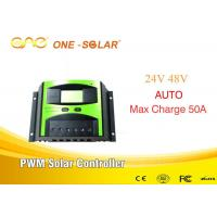 China 24v/48 15A Solar Charger Controller PWM  With CE & FCC CERTIFICATION on sale