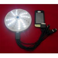 China 1800ma solar cell phone charger, with 60pcs LED light on sale