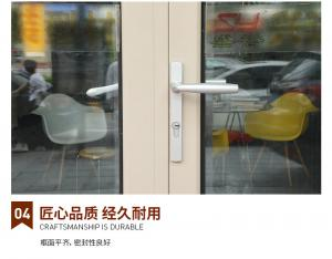 China 1.9mm Aluminum Bifold Windows on sale