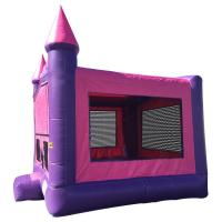 Pink 13 Foot Pricess Inflatable Bouncer Kids Inflatable Trampolines