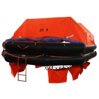 CCS/EC Marine Life Saving Equipment 25 Persons Throw Overboard Inflatable Life Rafts Manufactures
