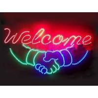 560x330mm ABS frame customised  led store sign Manufactures