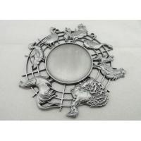 Nickel 3d Carnival Medas Zinc Alloy With Animal And Inner Cut Hole Manufactures