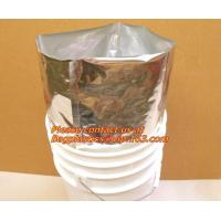 aluminum foil bag, customized, aluminum foil packaging bag, aluminum foil bag printing Manufactures