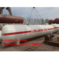 40FT Container Size White Cambodia 30,000Liters LPG Tank Carbon Steel Made Storage Tank for LPG Manufactures