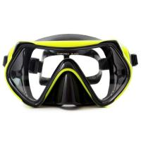 Dry Snorkel Anti-Fog Anti-Leak Design Diving Mask Reef Explorer Swimming Goggles with Anti-Fog and UV Protection Manufactures