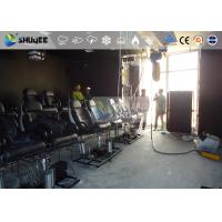 Quality 18 Persons 5D Movie Theater With Special Effect System 3DOF Pneumatic Motion Chairs for sale
