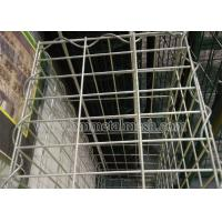 Galvanized gabion basket for stone cage application for retaining wall Manufactures
