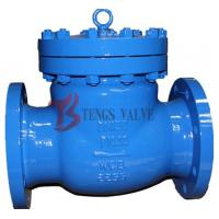 China Din Cast Steel Swing Check Valve , Metal Seat Non Return Valve Swing Type on sale