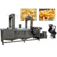 Multifunction Potato Chips Making Plant / Henan GELGOOG Machinery Electric 200 Kg / H Manufactures