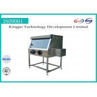 Lab Electrical Safety Test Equipment , Stainless Steel Glove Box Chamber Manufactures
