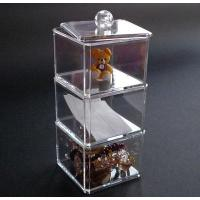 Large Decorative Clear Acrylic Storage Boxes With Lids For Home