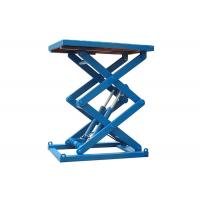 China Fixed Electric Hydraulic Scissor Lift Table Custom Service Acceptable on sale