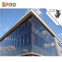 Heat Insulation Thermal Break Aluminum Curtain Wall Double Glazed Manufactures