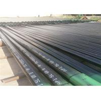 ISO API 5L Seamless Carbon Steel Pipe With Black Paint Surface Treatment Manufactures