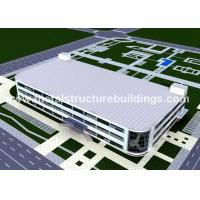 China Pre Built Steel Frame Storage Buildings Construction Environmental Friendly on sale