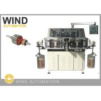 Quality Dual Flyer Armature Winding Machine /  Lap Winding Machine For 4poles Rotor for sale