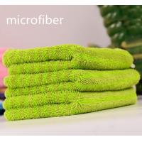 China 450gsm Twisted Coral Fleece Multifunction Microfiber Cleaning Cloth Wet Mop Pad Fabric for sale