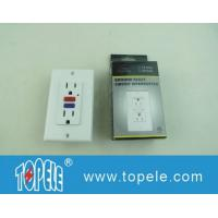125V Tamper Resistant  Commercial Duplex GFCI Receptacles with LED Indicator Light Manufactures