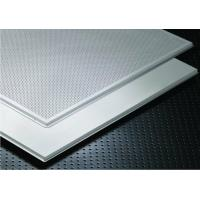 China High Quality Suspended Soundproof Office Clip In Metal Ceiling Tiles on sale