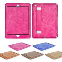 Dirt - resistant Flip Wallet thin PU leather Tablet Case cover For ipad air 1 / 2 Manufactures