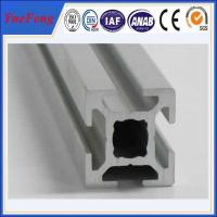 Hot! anodized and powder coated t-slot aluminum supplier, t-slot aluminum profile factory Manufactures