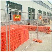 Chain Link Temporary Security Fencing/ Metal FencingQ235 Steel 360° Strong Welding Manufactures