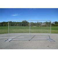 Hot Galvanized Temporary Mesh Fencing 1.8 X 2.4 Welded Mesh Mobile Fence Manufactures