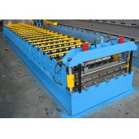 China Roofing Sheet Roll Forming Machine Double Layer Steel IBR And Corrugated on sale