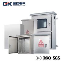 OEM Offered Stainless Steel Industrial Enclosures / Electrical Metal Cabinets Manufactures