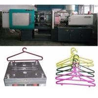 LCD Control Electric Injection Moulding Machine For Plastic Cloth Hanger / Cloth Peg Manufactures
