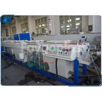 China PVC Electrical Conduit Pipe Making Machine With Dual Outlet Extrusion Twin Screw on sale