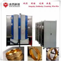 24k Real Gold Magnetron Sputtering Thin Film Coating Machine, Jewelry IPG gold depostion Equipment Manufactures