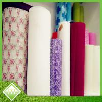 Buy cheap Pre - Cut  Non Woven Fabric Roll For Disposable Table Cloth Customized Length from wholesalers